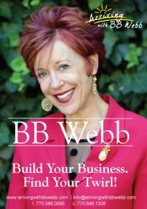 Build Your Business: Find Your Twirl! | Arriving with BB Web